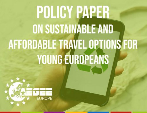 Policy Paper on Sustainable and Affordable Travel Options for Young Europeans