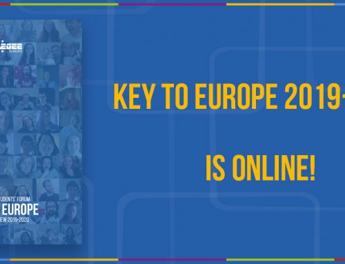 Key to Europe 2019/2020 is Now Online!