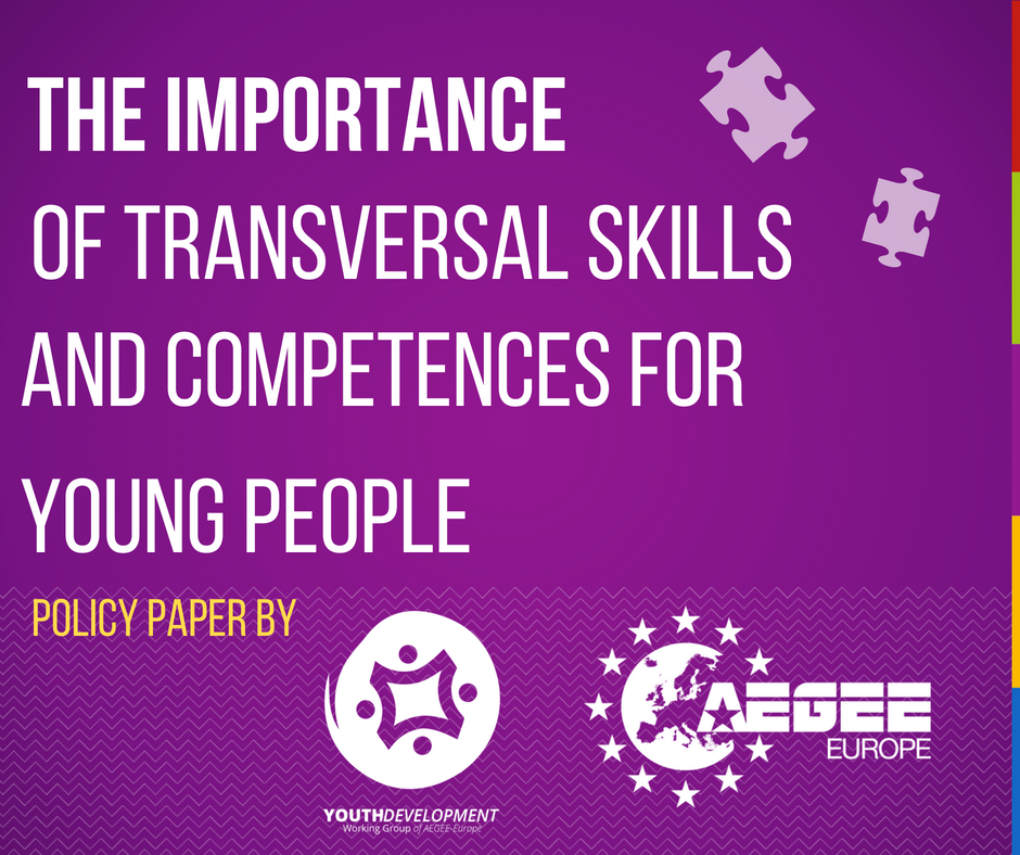 Policy Paper The Importance Of Transversal Skills And Competences